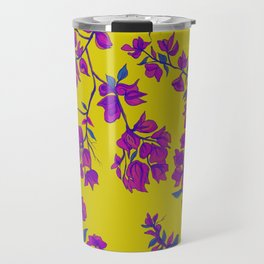 Bougainvillea casa yellow Travel Mug