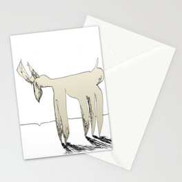 sad deer Stationery Cards