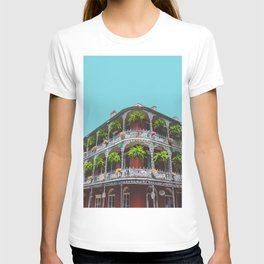 Hanging Baskets of Royal Street, New Orleans T-shirt