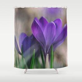 Flower Photography by Aaron Burden Shower Curtain