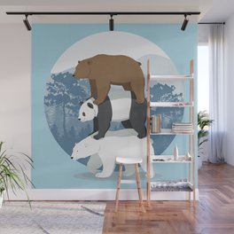 Walk in the woods Wall Mural