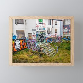Trap House Framed Mini Art Print