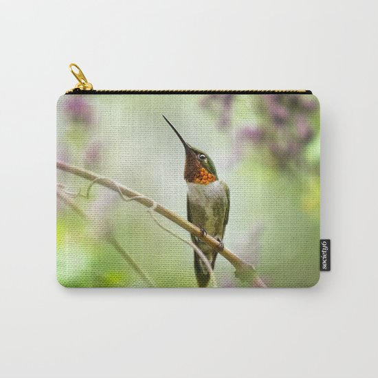 Hummingbird Passion Carry-All Pouch
