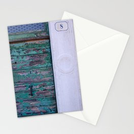 portals .:. blue Stationery Cards