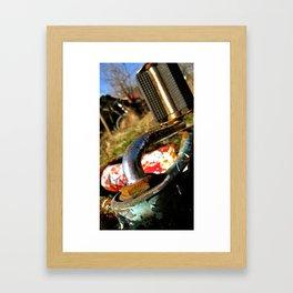 Rustic Pedal Framed Art Print