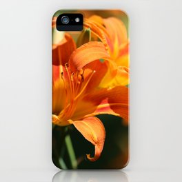 Day Lily Dance iPhone Case