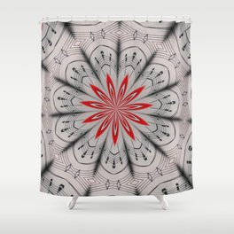 Our Tune Abstract Shower Curtain