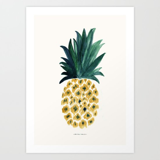 Pineapple by crystalwalen