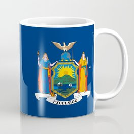 New York State Flag Coffee Mug