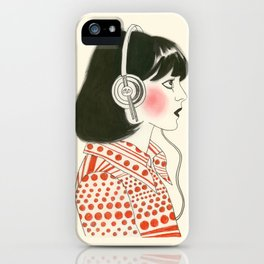 The New York Listener  iPhone Case