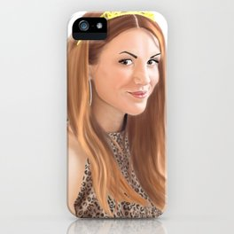 Queen Ackles iPhone Case