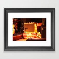 Listen Up USA Framed Art Print