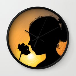The Little Lady Wall Clock