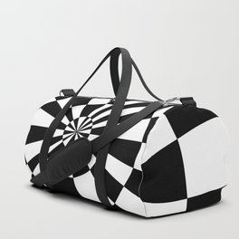 Black and White Inversion Duffle Bag
