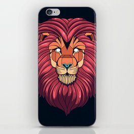 The eyes of a Lion iPhone Skin