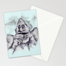 The Rock Biter and The Worm Stationery Cards