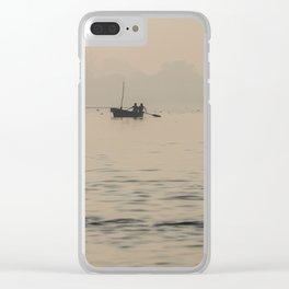 Varanasi Geometry VI Clear iPhone Case