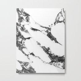 white marble no. 2 Metal Print