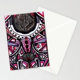 Mago Lobo Blanco Stationery Cards