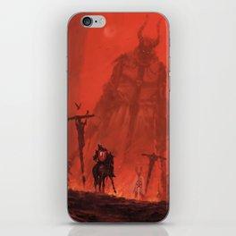 Ritterbruder iPhone Skin