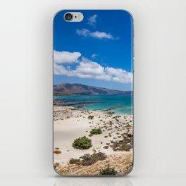 Elafonisi Island Beach - Crete, Greece iPhone Skin