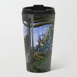Existing Only In The Light Metal Travel Mug