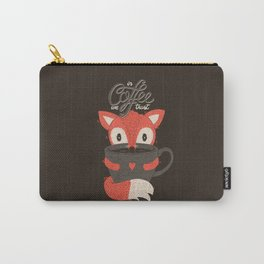 In Coffee We Trust Carry-All Pouch