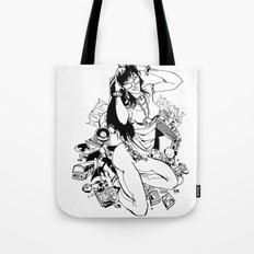 Nerd Girl Tote Bag