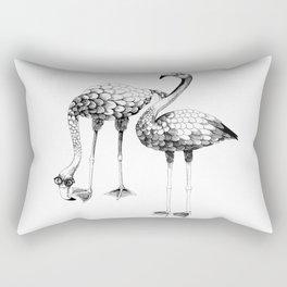 Flamingo Spectacles Rectangular Pillow