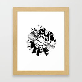 Nature Rocks Framed Art Print