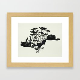 Tin Can Framed Art Print
