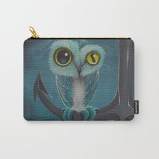 BLue Octowl Carry-All Pouch