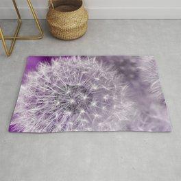 Dandelion purple Rug