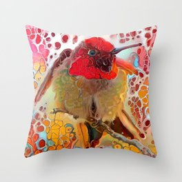 Chitter Chatter Throw Pillow