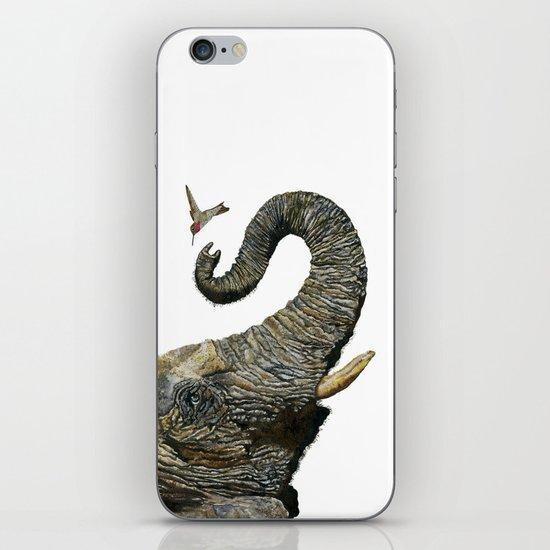 Elephant Cyril And Hummingbird Ayre 2 iPhone & iPod Skin