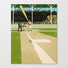 Casey at the Bat Canvas Print