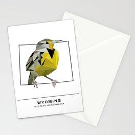 Wyoming – Western Meadowlark Stationery Cards