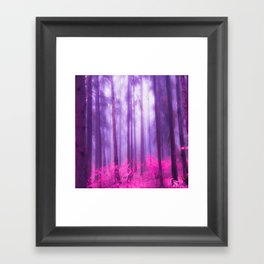 Fairy tale (Pink) Framed Art Print