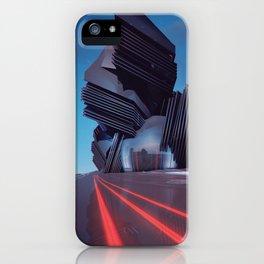 AREA REDCODE EGFXF25 iPhone Case