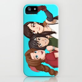 Selfie! Ft. The ladies of FF iPhone Case