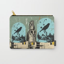 BIRD TRAIN Carry-All Pouch