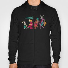 animal marching band Hoody