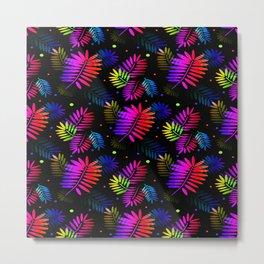Splashy Tropics Metal Print