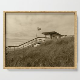 Rossnowlagh Lifeguard Station Tint 2 Serving Tray