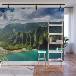 Island of Kauai, Hawaiian Islands Wall Mural