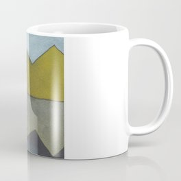 Mountain Reflection - Watercolor Painting Coffee Mug