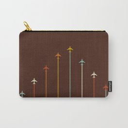 Classic Retro Airplanes 05 Carry-All Pouch