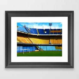 La Bombonera Framed Art Print