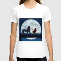 hakuna T-shirts featuring Lion King Stylish Painting by Bolin Cradley Art