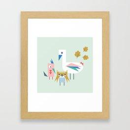 We Are Family! Framed Art Print